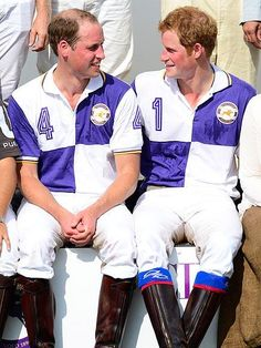 Prince William keeps busy with brother Prince Harry, who joined him at a charity polo match in Cirencester Park, Gloucestershire. http://www.people.com/people/gallery/0,,20717080,00.html#21361951