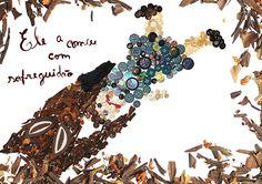 Ilustração Capuchinho Vermelho