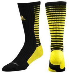 adidas Team Speed Vertical Crew Sock - Men s - Basketball - Accessories -  Black Vivid Yellow 179027ca0