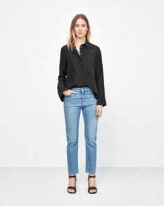 Silk Shirt - Black