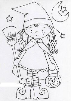 Partilho aqui uns desenhos para pintar no Halloween. Podem fazer o download de…