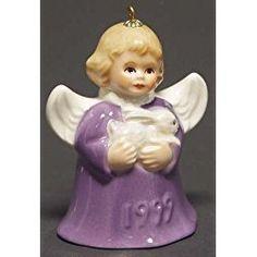 Goebel Annual Angel Bells 1999 Purple