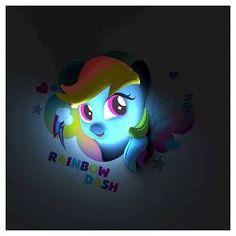 3D Light FX My Little Pony Rainbow Dash Nightlight : Target