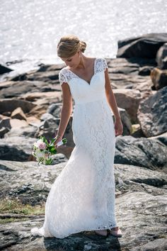 Freya wedding gown from By Malina Bridal Collection.