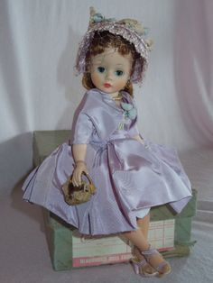 Sweet 1957 Madame Alexander Cissette in Lilac Matinee Outfit | eBay