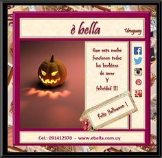 Toda oportunidad es buena para celebrar!! Feliz Halloween!! ¿Como lo van a celebrar ustedes?