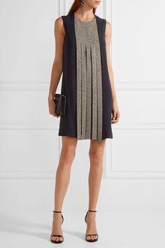 Dion Lee | Swarovski crystal-embellished silk-crepe dress | NET-A-PORTER.COM