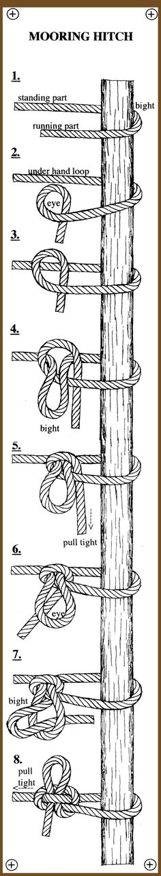 Know you knots with this chart!