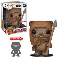 Funko Pop Movies Star Wars - 10 Wicket W. Warrick 293 for sale online Star Wars Trivia, Star Wars Meme, Star Wars Facts, Star Wars Quotes, Batman Figures, Funko Pop Figures, Vinyl Figures, Action Figures, Star Wars Tattoo