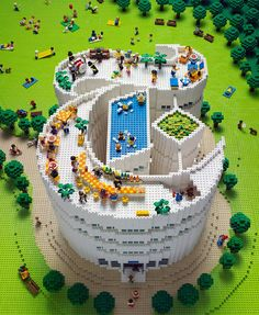 Created for New York Times by Sachiko Akinaga - Japan's best Lego builder