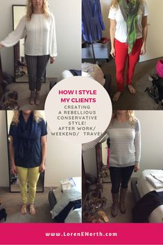 Behind-the-scenes with real people and find out how I style my clients in real life. See the outfits I create from my client's wardrobes (shopping their clos. Conservative Fashion, Comfortable Clothes, Real People, Wardrobes, Business Casual, Casual Looks, What To Wear, Style Me, Stylists