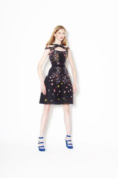 Cynthia Rowley Summer 2013: Love the sequence on this dress.
