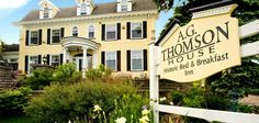 A.G. Thomson House Bed and Breakfast in Duluth, MN. Our 1st Anniversary destination!