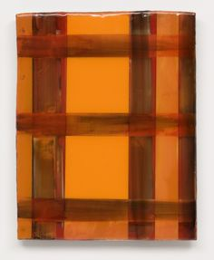 Stefan Annerel RAASAY 2011 acrylic and resin on panel and glass  52 X 42 cm