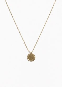 & Other Stories Circle Necklace in Gold