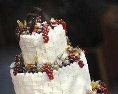 Torta nuziale bianca di frutta di Casa dei Ciliegi Seven