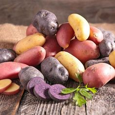 Potatoes were cultivated in Peru about 7,000 years ago in the High Andes around Lake Titicaca. Some wild species can still be found however, these wild types are rendered inedible by the toxic compounds alkaloids. These are the same chemicals found in Deadly Nightshade. #garden #gardens #gardening #vegetables #potato #potatoes #science #nature