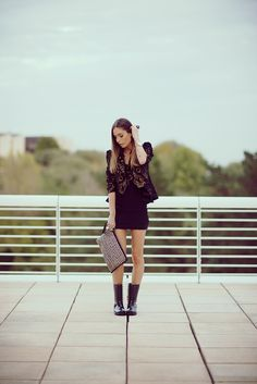 Gold&Black www.absolutelyberta.com #blogsmoda #fashionblog #lookbook #gold&black  #streetstyle #outfit