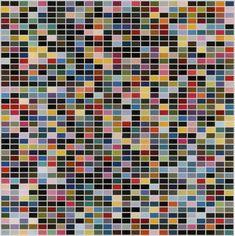 """Gerhard Richter, """"1025 Farben"""" (1974)"""