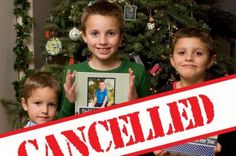 Parents canceled the Christmas for their children as they were very naughty