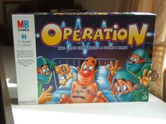 I was never very good at completing a successful operation.