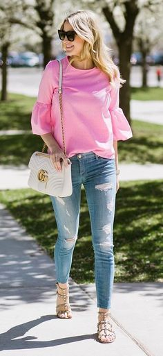 cool+outfit+top+++bag+++rips
