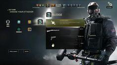 Image result for rainbow six siege UI