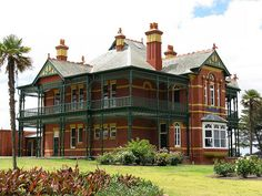 Bundoora Homestead, built 1899 - Melbourne, Australia  by Dean-Melbourne, via Flickr
