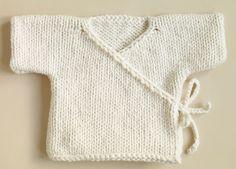 bebek örgü zıbın modeli