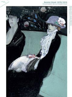 """""""Xavier Gosé, 1876/1915. Il·lustrador de la modernitat"""", del 28 d'abril a l'11 de setembre de 2016."""