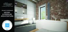Wśród wyróżnionych prac w konkursie Roca Designer, znalazł się projekt nadesłany przez Heydel&Popielak Architektura. Jury zachwyciła pomysłowość wnętrza, w którym została osadzona łazienka, a także funkcjonalne rozmieszczenie produktów ROCA. W projekcie zostały użyte produkty z powłoką MAXI CLEAN.