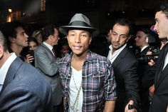 Pharrell Williams, Moncler Launch Sunglass Collaboration - Slideshow
