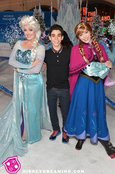 "Cameron Boyce on the set of Disney's ""Descendants"""