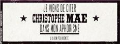 Christophe Maé © France Inter - 2013 / Justin Folger.
