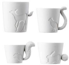 #Kinto #mug and #lantern #animal #tail #bunny 22,00€ https://www.goodshaus.com/Kinto-Mugtail-Tasse-Kaninchen