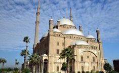 The Muhammad Ali mosque in Cairo, Egypt was built by Muhammad Ali Pasha. He was thought to have been of Albanian origin. He was an Ottoman military leader who ruled Egypt for over 45 years and is regarded as the founder of modern Egypt. Mohamed Ali, Cairo Tower, Modern Egypt, Kairo, Mosque Architecture, Carlton Hotel, Famous Monuments, Visit Egypt, Pyramids Of Giza