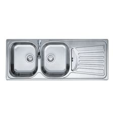 "48"" x 20"" x 6 1/2"" Stainless Steel Kitchen Sink, with Drain Board --- make sure we order LEFT hand drainboard  www.Homehardware.ca  $380"