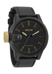 Nixon Chronicle - Matte Black/Gold