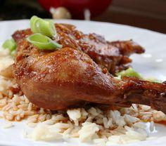 Légende d'Automne: Cuisses de poulet sucrées