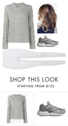 """""""#cozy #fall #contest"""" by posinfashion ❤ liked on Polyvore featuring Lanvin, NIKE and Topshop"""