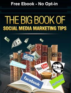 The Big Book of Social Media Marketing Tips * Social media sites like Facebook and Twitter are the new trend of  the internet. It opened new possibilities to communication and it  improved the way people connect and share. Think of it as an  online ground where people can meet and interact electronically.  But as you know, business thrives where people thrives. And  having realized the large number of people that login to social  media sites on a daily basis, internet marketers found a ...