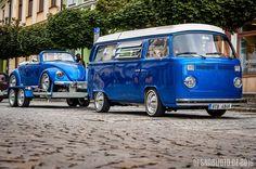 VW Conwoy T2 Bus + Beetle