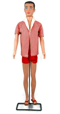Vintage Ken Doll with Painted Hair 1962 to1965 - mine has blonde hair. Dee