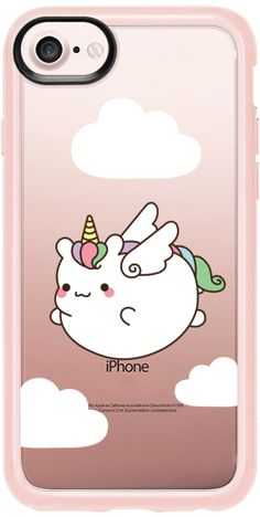 Casetify iPhone 7 Snap Case - Flying Unicorn - Boorie Unicorn by Mint Corner #Casetify
