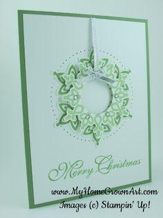 Festive Flurry Wreath