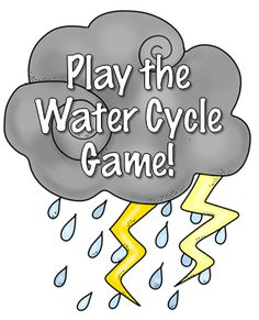 The next time your class is stuck inside on a rainy or snowy day, play the States of Matter Game or the Water Cycle Game to get your kids up and moving... and learning!