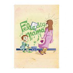 Tarjeta del Día de la Madre para imprimir - Papelería