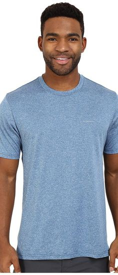 Rip Curl Search Series Short Sleeve Tee (Blue) Men's Swimwear - Rip Curl, Search Series Short Sleeve Tee, WLUGSM-BLU, Apparel Top Swimwear, Swimwear, Top, Apparel, Clothes Clothing, Gift, - Street Fashion And Style Ideas