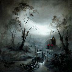 Bob Barker Art : Right as Rain