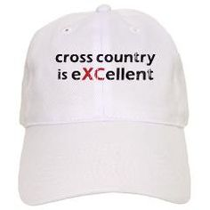 Cross Country eXCellent Baseball Cap 2cd295a8bad4